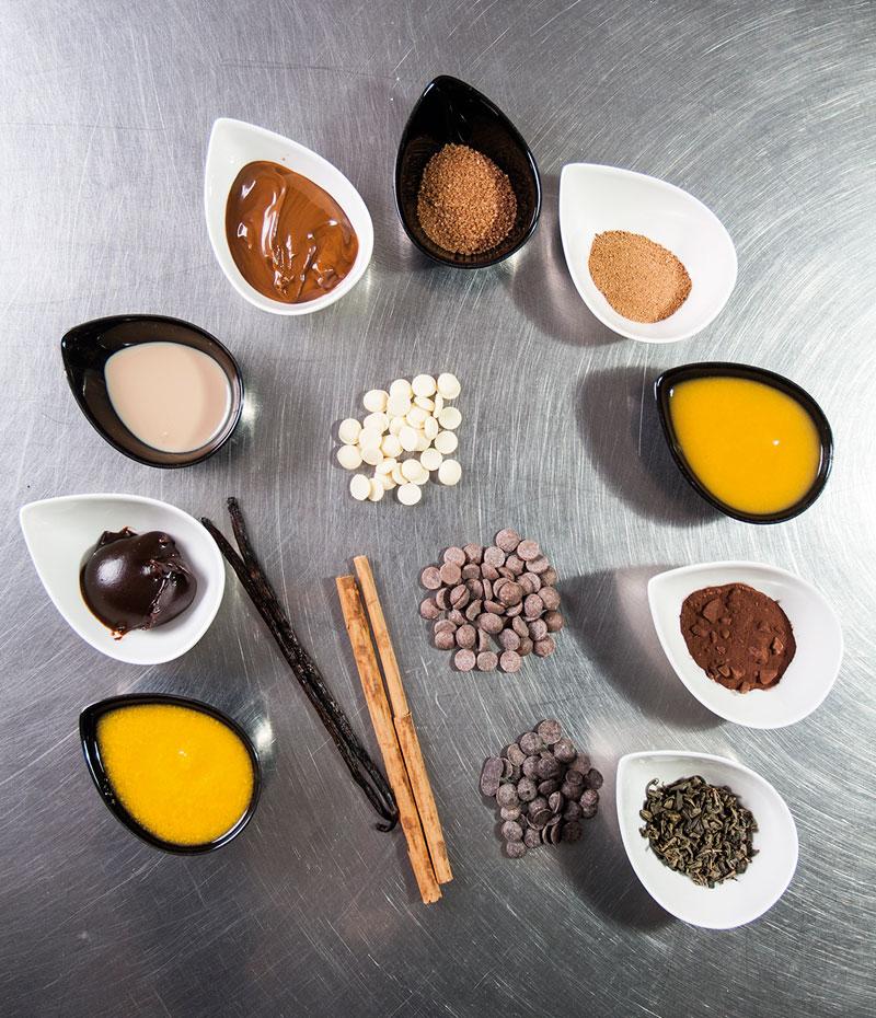 Sabores en batidos de cacao