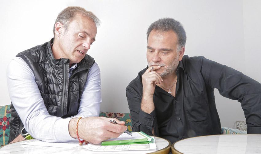 Albert Soler y Lluís Ribas