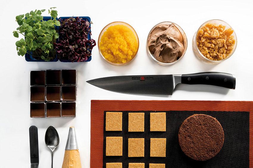 Sándwich helado de chocolate y soja