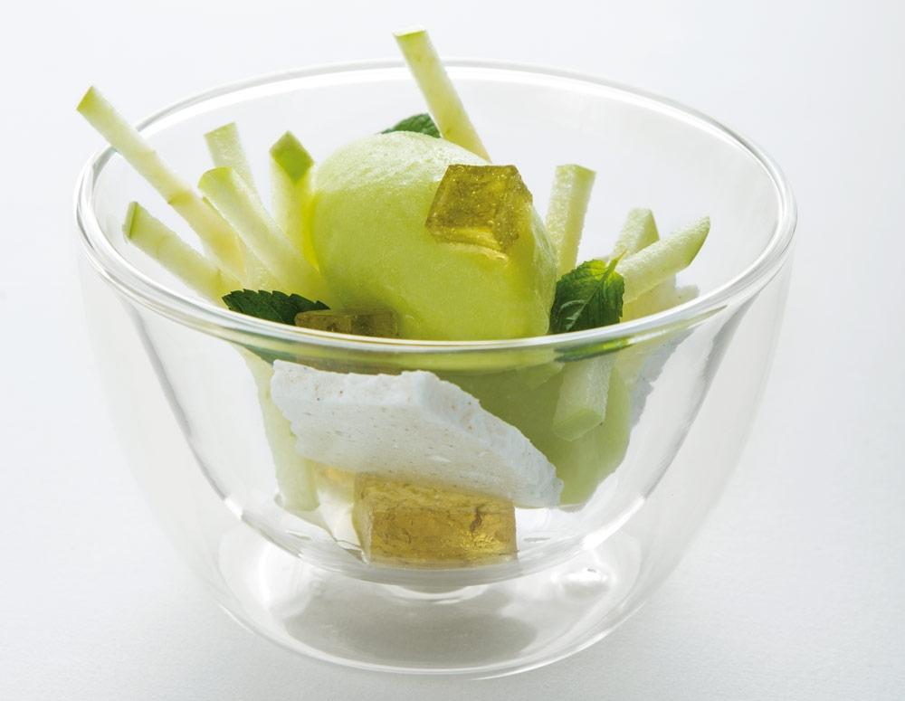 Aromanzana sorbete de manzana granny y cardamomo de - Sorbete de manzana verde ...