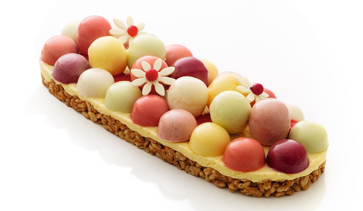 Tarta helada A las Frutas de Oberweis