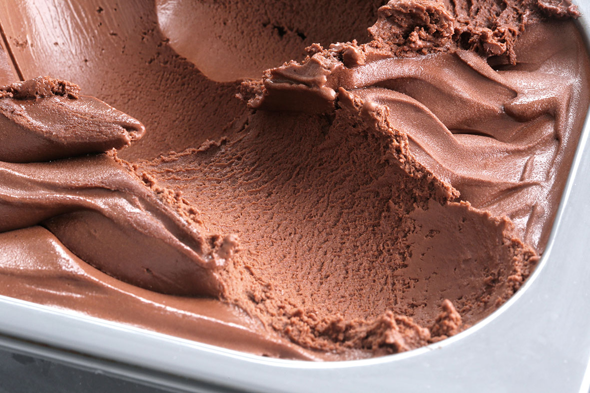 Crema helada de cacao