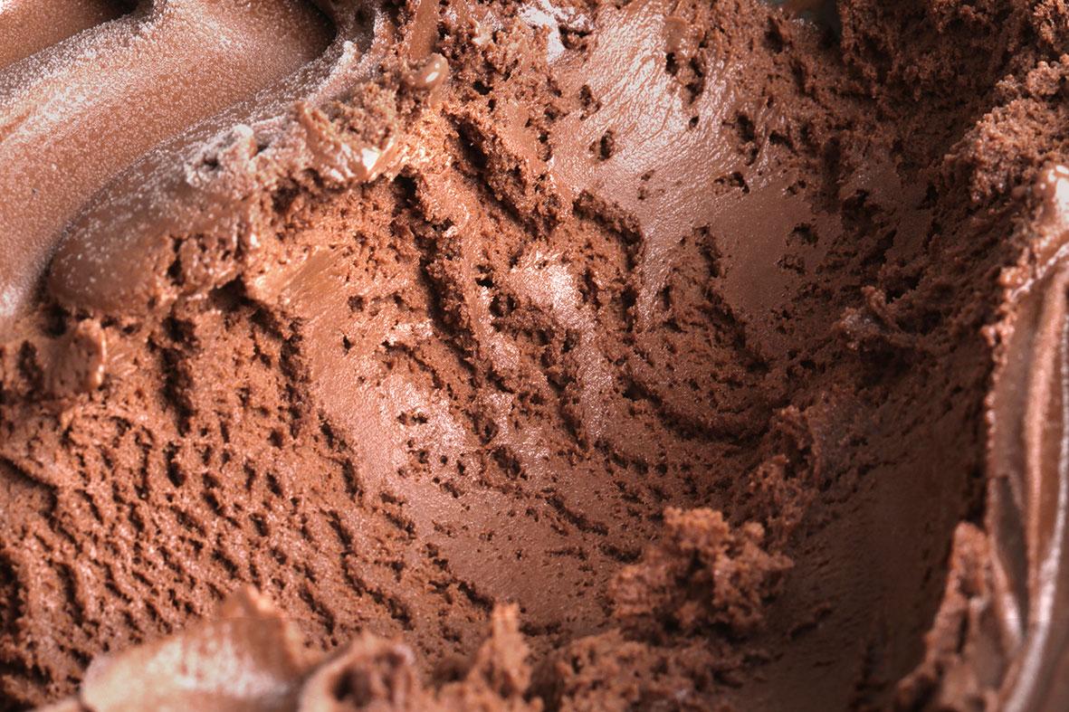Helado de cacao
