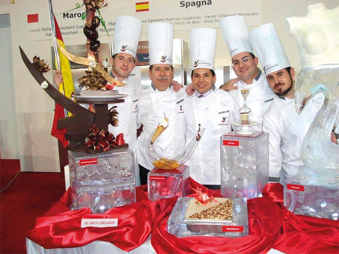 equipo español CMH 2010