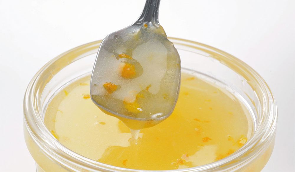 coulis de naranja de Mario Masiá