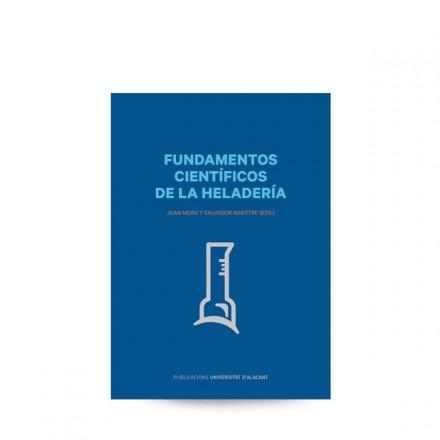 """Portada del libro """"Fundamentos Científicos de la Heladería"""""""