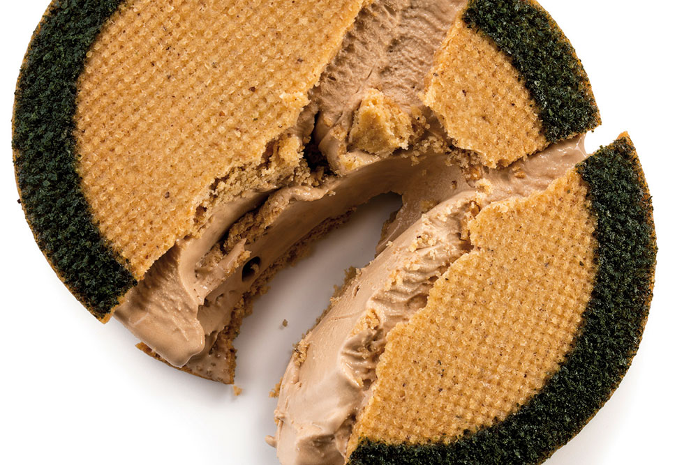 Sándwich helado de chocolate Origine Ghana y soja