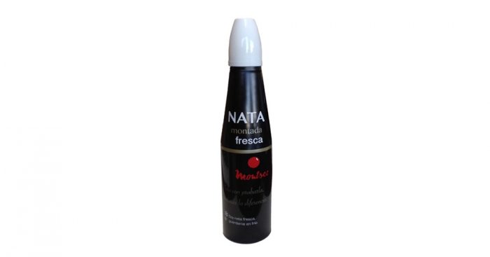 Spray de nata fresca de 200 g